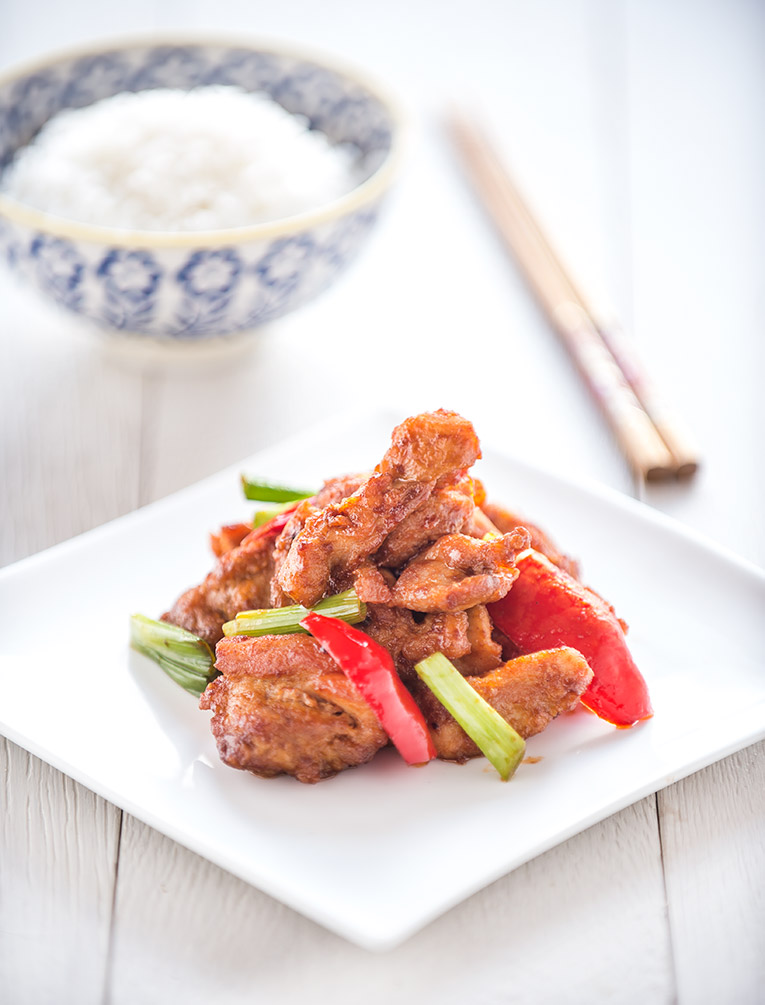authentic general tso chicken