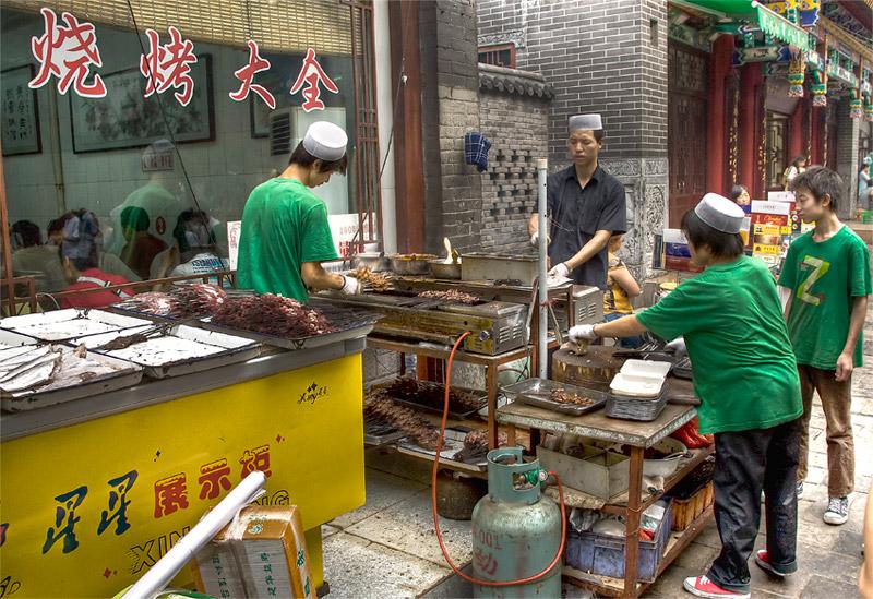 Xian Muslim Street BBQ