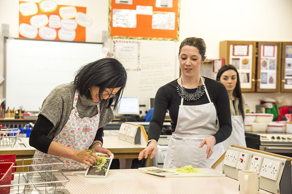 George Heriot's school dumpling class