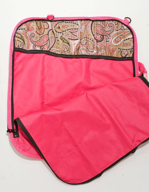 pink knife bag