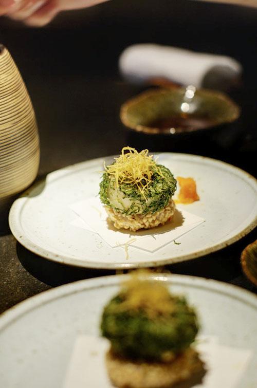 Mitsui Scallop dish